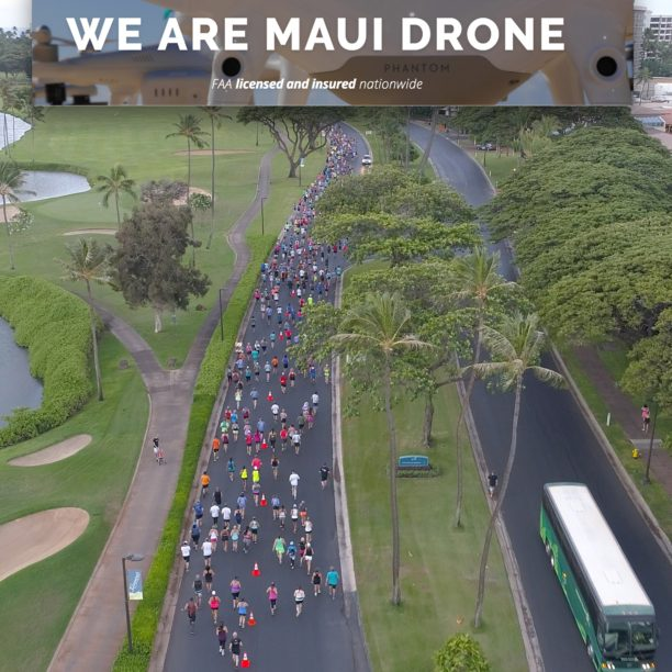 Maui Drone launches
